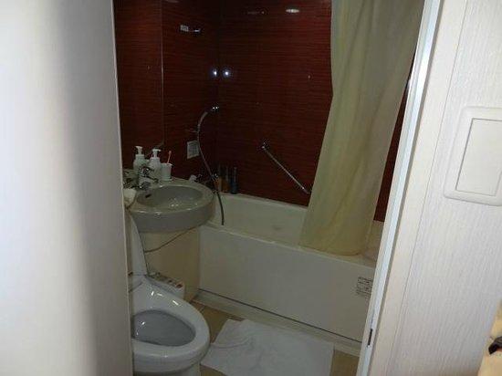 โรงแรมไดว่ารอยเนต เกียวโต-ฮาจิกุจิ: Good sized bathroom