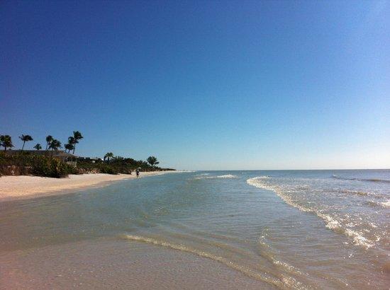 Island Inn: Stranden = ett riktigt paradis
