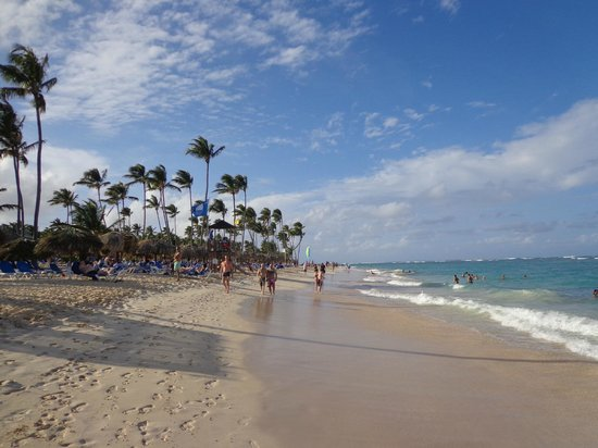 Grand Bahia Principe Punta Cana: Praia do Hotel
