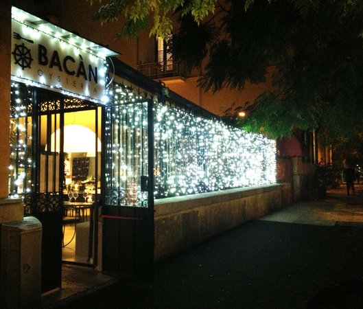Bacan Oysteria: Ingresso