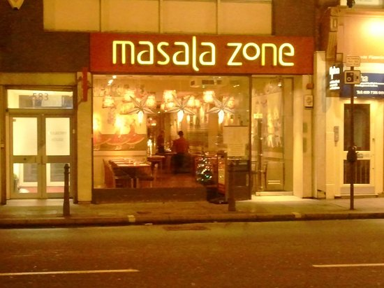 Masala Zone Fulham : Very warm place ..