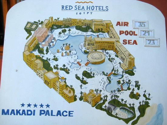 The Makadi Palace Hotel: Hotel- Plan