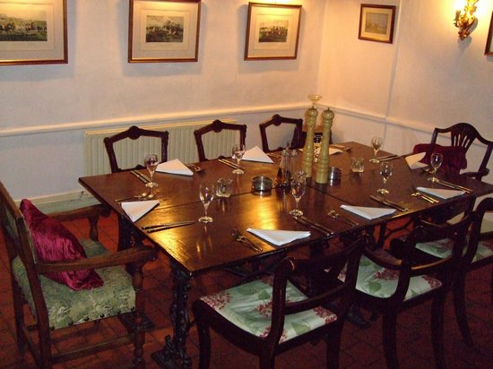 Private Dining Room Picture Of Half Moon Inn Kirdford TripAdvisor