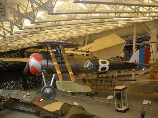 Smithsonian National Air and Space Museum Steven F. Udvar-Hazy Center: Capt Eddie's Spad
