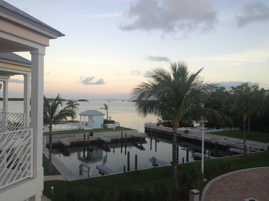 Islander Bayside Townhomes, a Guy Harvey Outpost: View from our upstairs balcony