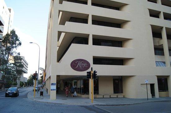 Kings Perth Hotel: Widok hotelu z zewnątrz.