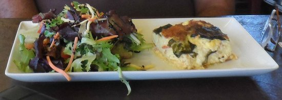 Old Town Red Rooster Cafe: Quiche - Wonderful Taste