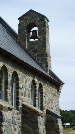 Church of the Good Shepherd: The chime-bell atop atop the roof of Church