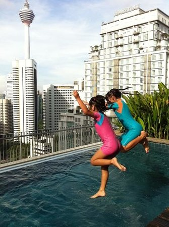 Ascott Kuala Lumpur : Can't wait to jump in