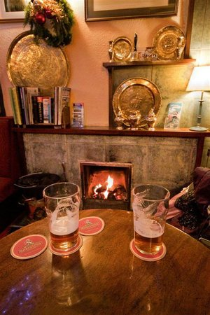 Golden Rule: Couple of pints by the fire