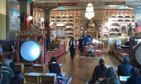 Kagyu Samye Ling Tibetan Buddhist Monastery and Centre for World Peace and Health: The Temple