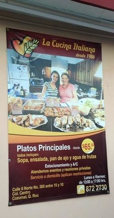 La Cucina Italiana : Great family dining.