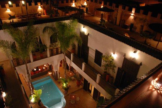 Vue intérieure Riad Pachavana