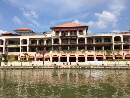 Casa del Rio Melaka: View from Sungai Melaka