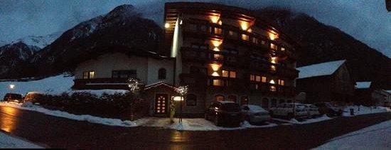 Appartement Rechenau: hotel..