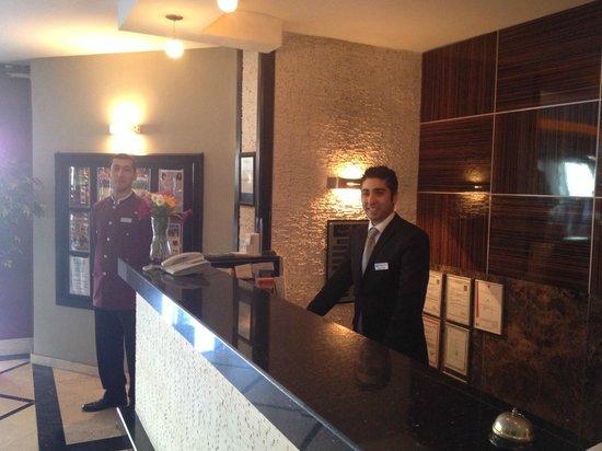 Grand Hotel Gulsoy: reception