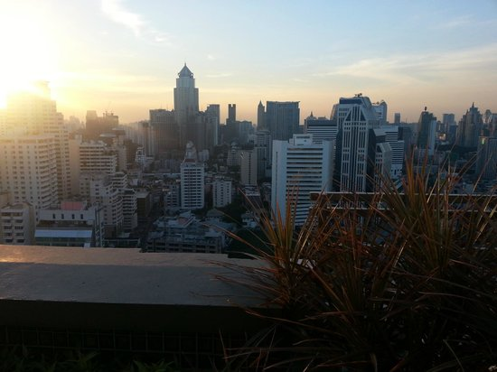 Sofitel Bangkok Sukhumvit: view from the terrace