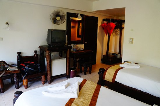 Ao-Nang Sunset Hotel: Spacious and clean