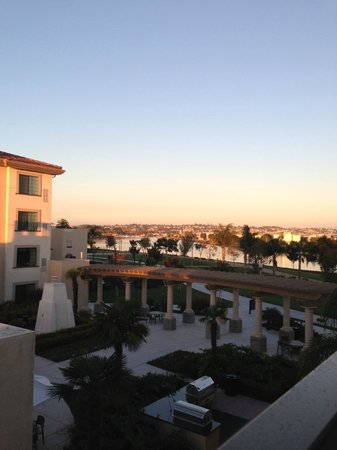 Homewood Suites by Hilton San Diego Airport - Liberty Station: View from our room on the third floor