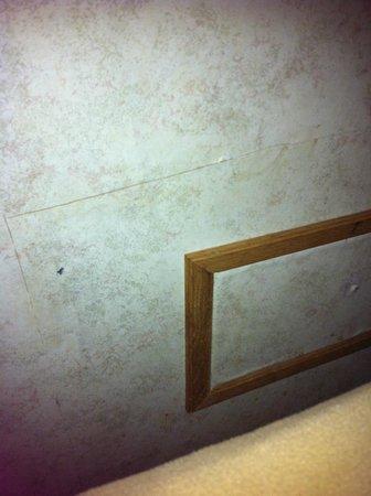 Niagara's Best Inn: cut wall paper