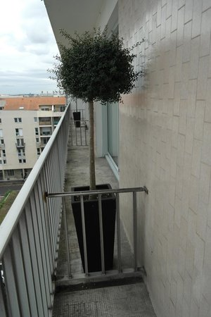 Hotel Charlemagne: Balcon