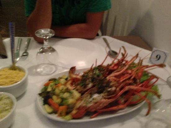 Lounge Bar Ponto G Restaurant: grigliata all aragosta