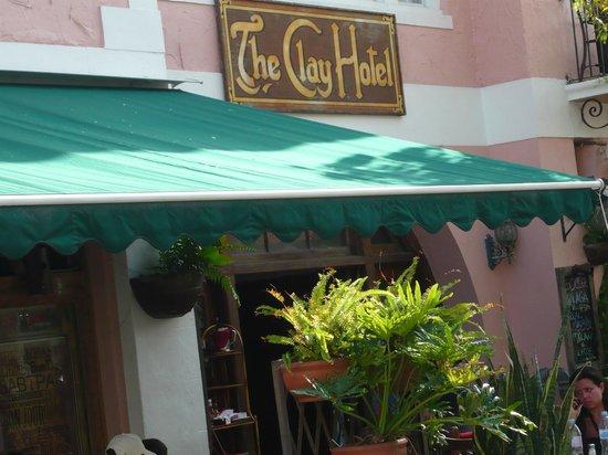 The Clay Hotel: esterno hotel