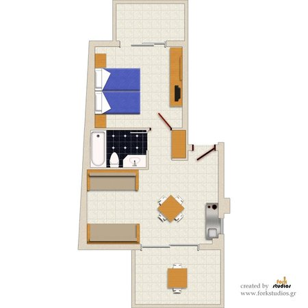 Nautilus Bay Hotel: Apartment Layout