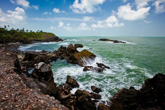 Trinidad: A view of one side of Galera Point