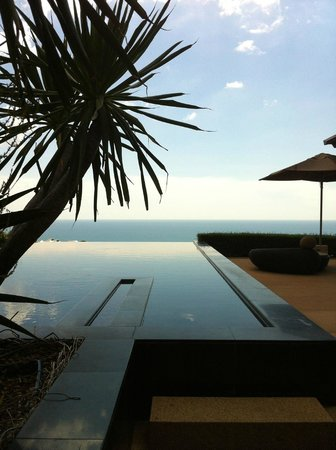 Paresa Resort Phuket: our infinity pool in the Cielo residence
