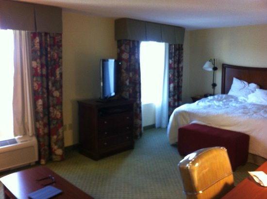 Hampton Inn & Suites Fort Myers - Colonial Blvd: Morning in our room