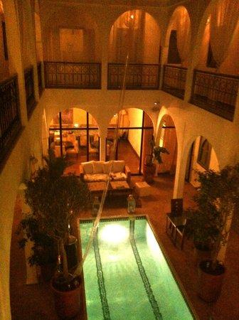 Riad Utopia Suites & Spa: Riad vue Intérieure