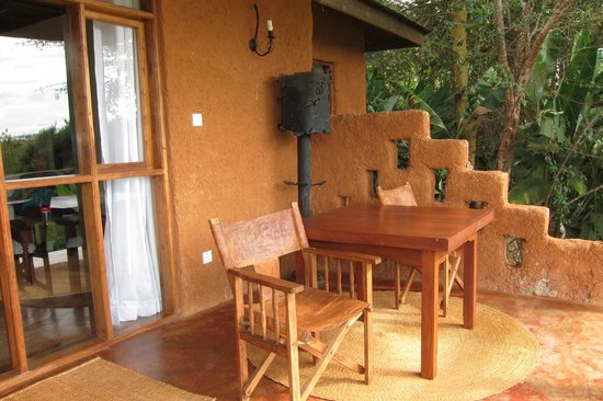 Ngorongoro Farm House, Tanganyika Wilderness Camps: Deck