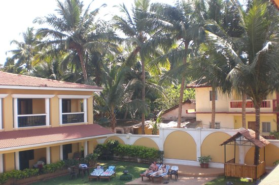 Casa De Goa Boutique Resort: Hotel view from room 306