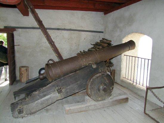 Marksburg Castle: cannon