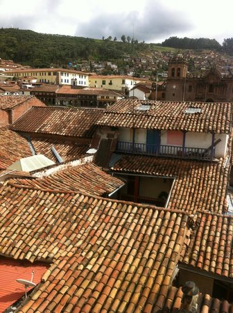 Casa Andina Classic Cusco Plaza: View from breakfast