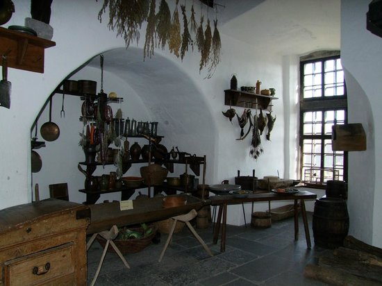 Marksburg Castle: kitchen