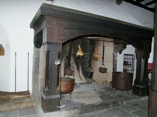 Schloss Marksburg: hearth