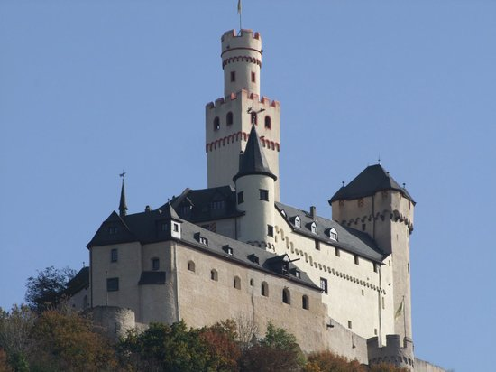 Marksburg Castle: close up