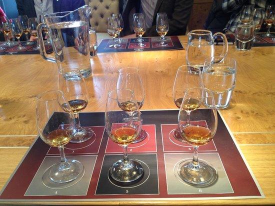 Dornoch Castle Hotel: Dalmore tasting