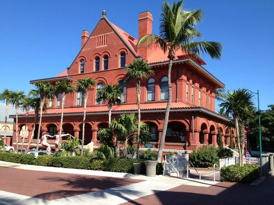 Key West Harbor Inn: Original trade building