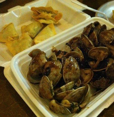 Rice Box: Baby Clam & Crab Ragoons