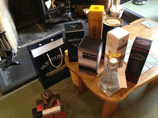 Dornoch Castle Hotel: A few purchases!