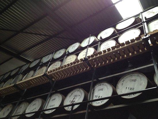 Dornoch Castle Hotel: Balblair distillery