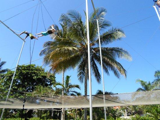 Kaiceitos Circus School: Flying to a catch