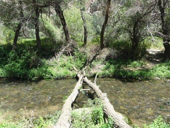 Ihlara Valley: The river