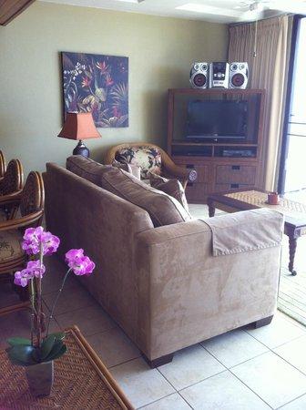 Hawaiian Princess Resort: Living room