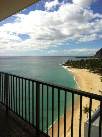 Hawaiian Princess Resort: Beautiful view off corner lanai