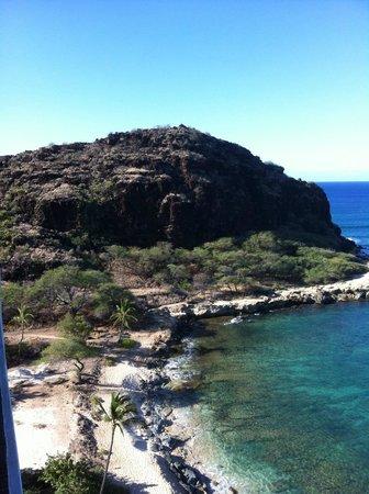 Hawaiian Princess Resort: View looking 'the other way' off lanai