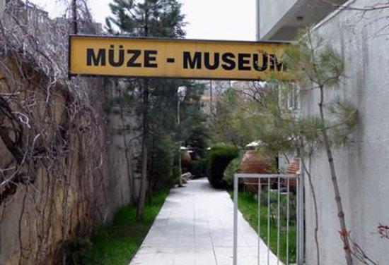 Nevsehir, Turcja: the entrance